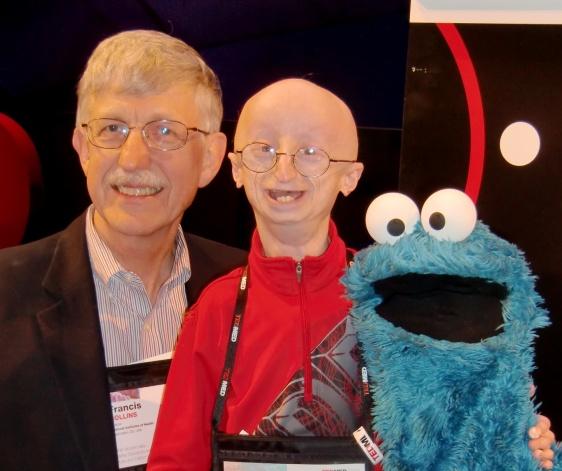 Man, boy, and a puppet