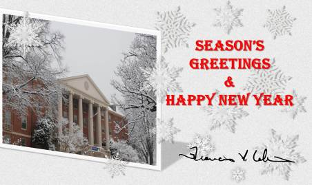 Season Greetings & Happy New Year