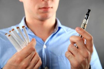 Cigarettes vs. E-Cigarettes