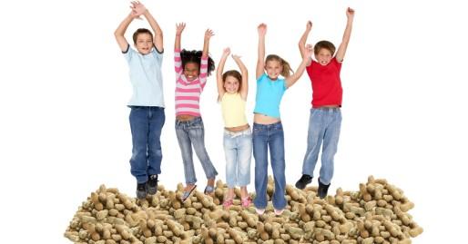 Kids and peanuts