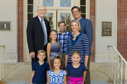Juip Family with Dr. Francis Collins